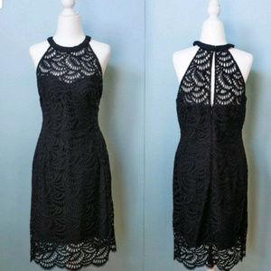 Lilly Pulitzer Kenna Halter Dress Onyx Size 10 NWT